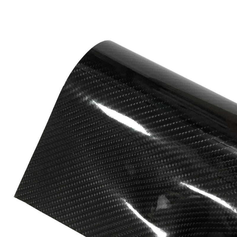 Adesivo de carro à prova d' água brilhante, 5d/6d, alto brilho, filme colorido, fibra de carbono para moto, celulares, interior do carro película de decalque