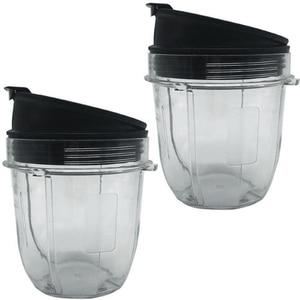 Соковыжималка, аксессуары, крышка стакана для ниндзя, соковыжималка для Nutri Ninja 12 унций, чашка 12 унций, банка блендера, 2 упаковки 12 унций для ч...