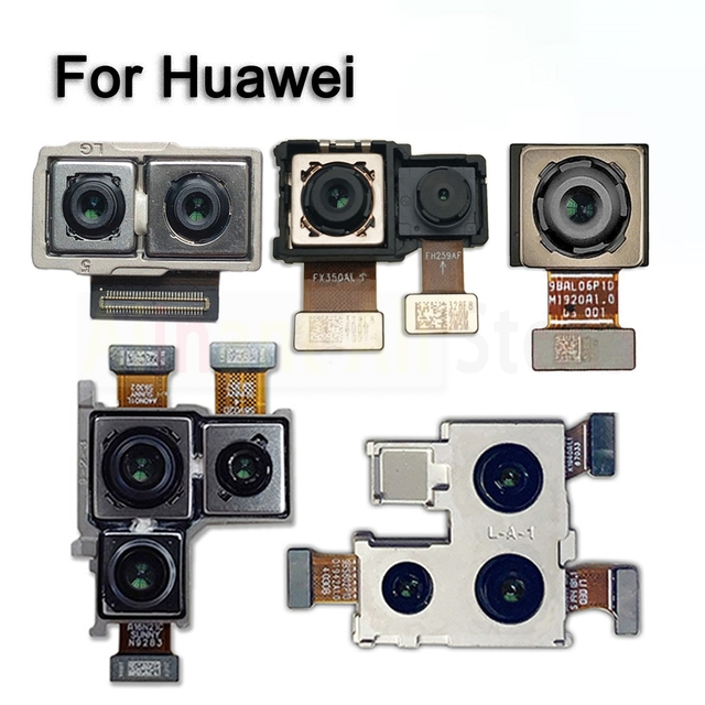 Original Rear Main Back Camera Flex Cable For Huawei Mate 8 9 10 20 20X 30 Lite Pro Plus Back Camera Flex Repair Phone Parts