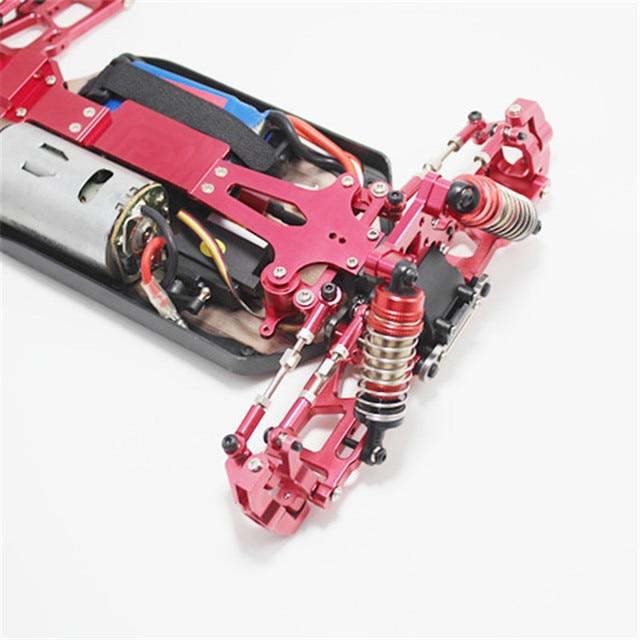 Siège de roue avant siège de roue arrière siège en forme de C ensemble de voiture RC pour WLtoys 144001 114 véhicule télécommandé, couleur argent