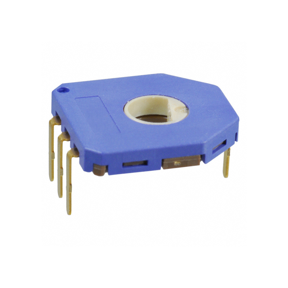 Taidacent 10Pc Board Mount Motion Sensor SV01A103AEA01R00 10K Trimmer Rotary Potentiometer Angular Position Sensor Potentiometer
