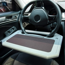 Universal Car Tray for Eating Steering Wheel Auto Steering Wheel Desk For Laptop Tablet Notebook Car Travel Table for Drivers