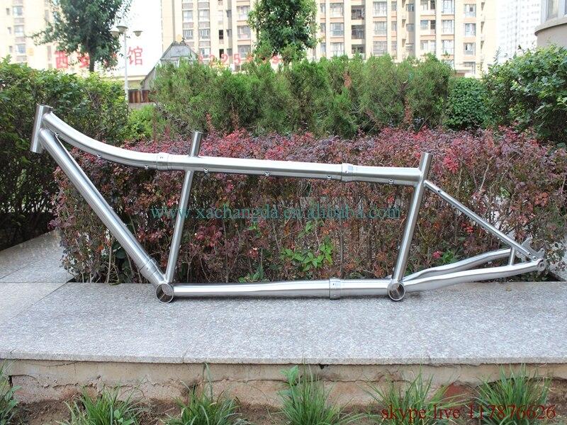 Bike-Frame Axle Post-Mount Tandem Titanium Thru BB30 No with Couple 44mm Head-Tube Bb30/No-thread/Bb-shell/..