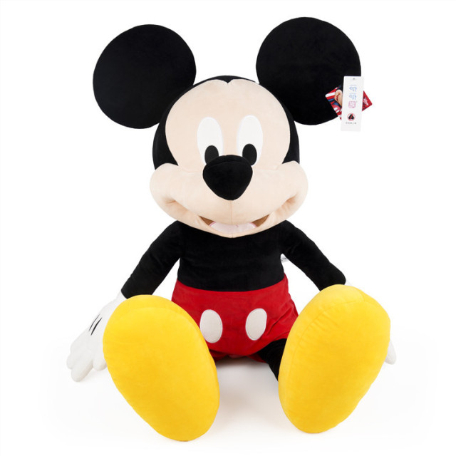 Disney 30/46/80cm Plush Toys Mickey Mouse Minnie Cute Animal Stuffed Dolls PP Cotton Hot Toys Birthday  Gift for Kids