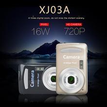 XJ03 прочная практичная 16 миллионов пикселей компактная домашняя цифровая камера портативные камеры для детей мальчиков и девочек