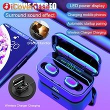 Auriculares gemelos con micrófono y Bluetooth para Huawei Mate 30 Pro 20 P30 Lite Honor 20 10 Lite 9 8 8X 8A 8C