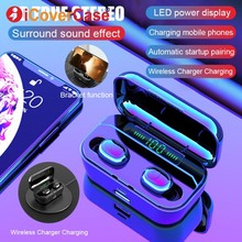 Bluetooth Earphone With Charging Box For Huawei Mate 30 Pro 20 P30 Lite Honor 20 10 Lite 9 8 8X 8A 8C Twins Headphone With Mic