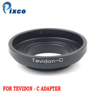Pixco For Tevidon C Lens Adapter Suit For Carl Zeiss JenaTevidon Lens to C Mount Adapter