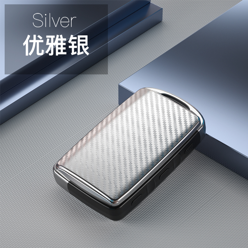 Carbon fiber TPU Car Key Cover For Mazda 3 Leather Key Case For Mazda 3 2020 2019 Accesorios Alexa 3 Button Protection Holder