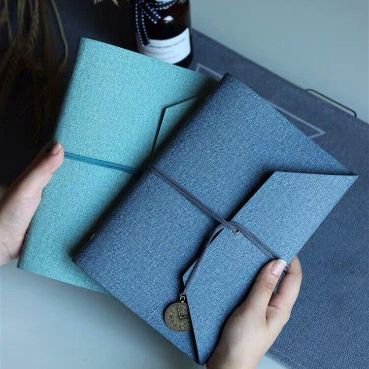 2020 Sharkbang Vintage A5 Loose-leaf Business Spiral Notebook Journal Bullet Monthly Weekly Planner Agenda Papelaria Stationery