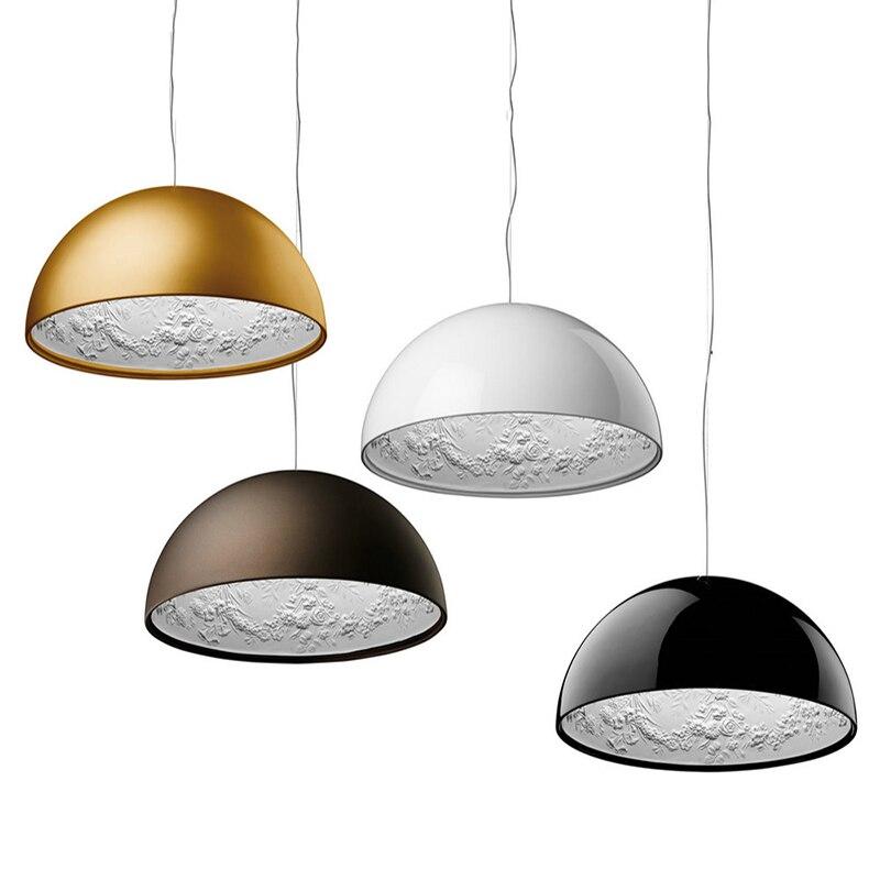 Italian Fashion SKYGARDEN Chandelier Resin Sculpture Lustre Living Room Dining Room Light Fixtures Led Loft Decor Hanging Lamp