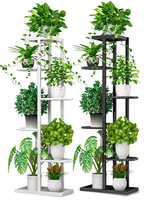 Multi-storey Indoor Household Balcony Decorate Iron Art Of Shelf A Living Room Simplicity Flowerpot To Ground Pylons Green Luo