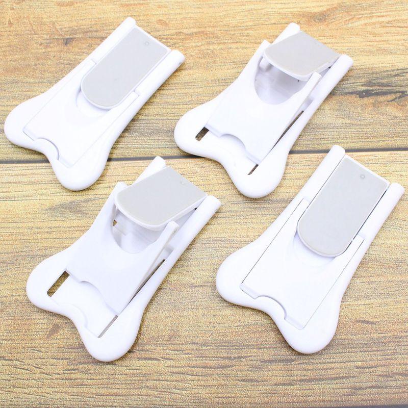 Child Baby Anti-Hand Clip Safety Door Lock Drawer Refrigerator Window Safety Locks Anti-opening Protection Kids Supplies 19QF