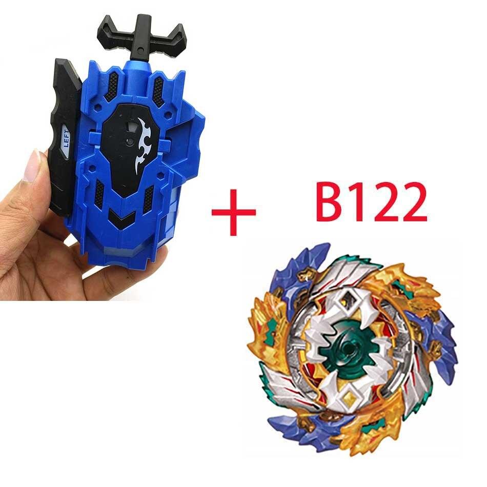 Волчок Beyblade BURST B-130 B-117 с пусковым устройством Bayblade Bay blade металл пластик Fusion 4D Подарочные игрушки для детей - Цвет: B122