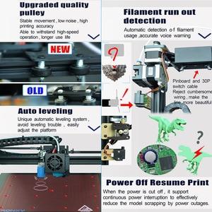 Image 5 - Tronxy X5SA/X5SA 400 חדש משודרג גבוהה דיוק 3D מדפסת DIY ערכת 400*400*400mm תמיכה אוטומטי פילוס לחדש הדפסה