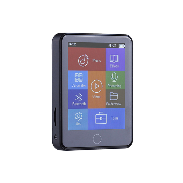 8GB Touchscreen  Mutil Use for Portable Recording   4