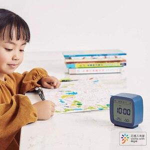 Image 5 - Youpin Qingping Bluetooth Temperatuur Vochtigheid Sensor Nachtlampje Lcd Wekker Voor Mihome App Controle Thermometer
