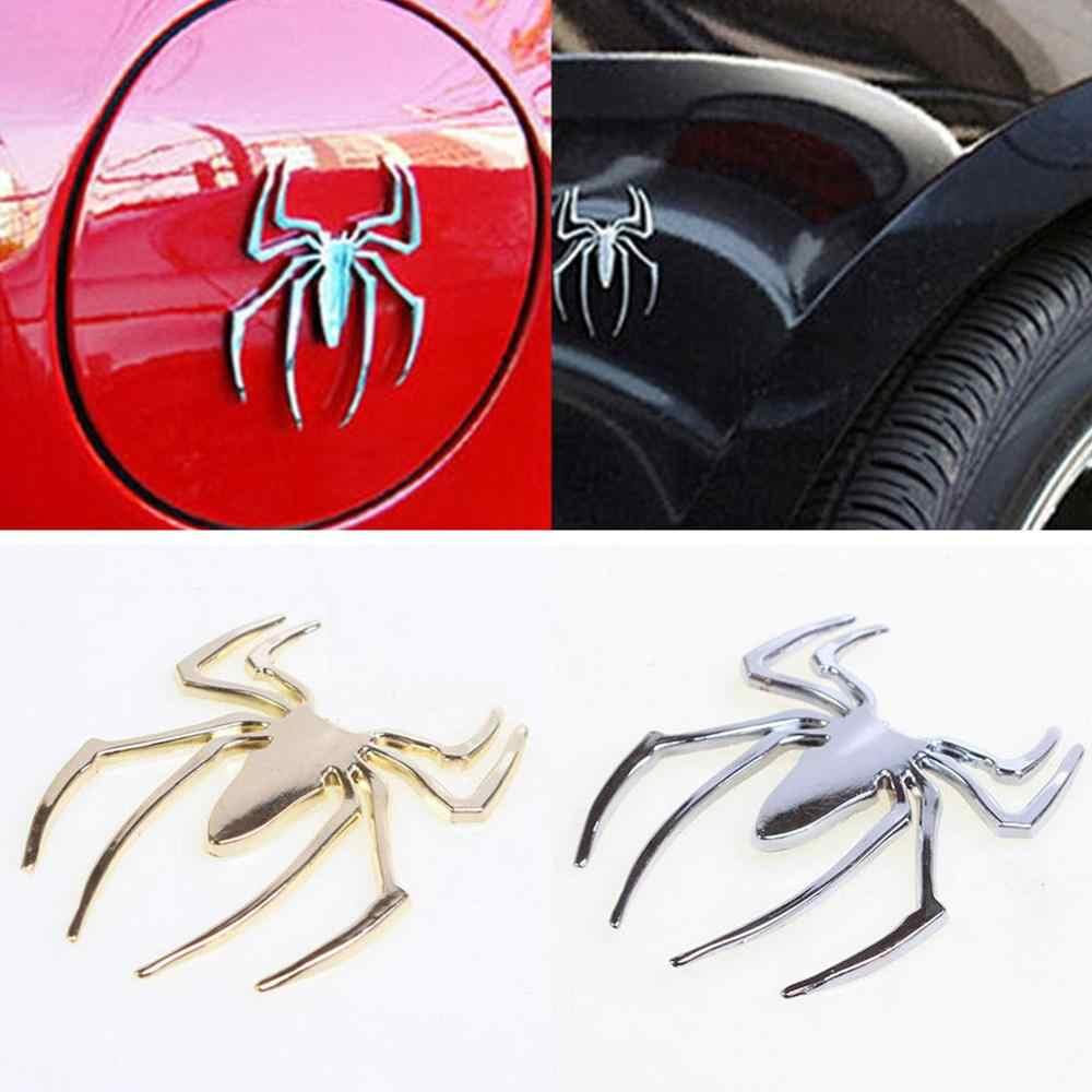 3D Metal Car Truck Spider Chrome Badge Sticker Logo Emblem Decal Silver//Gold