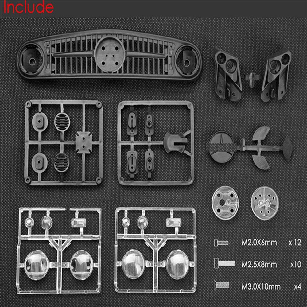 4x4 umg10 6x6 rc pecas do carro acessorios 04