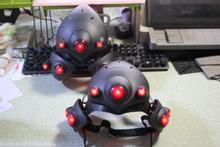 Маска аниме с дыхательным светодиодный! Вдоводел шлем для Косплэй маска роковой вдовы с объективом Франция плеер гарнитура костюм реквизит