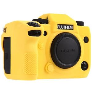 Image 4 - Силиконовый чехол для Fuji X H1 XH1, цифровой фотоаппарат высокого качества, текстурная поверхность, защитный чехол для FUJIFILM XH1 X H1