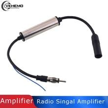 Vehemo Автомобильная радио антенна FM усилитель сигнала встроенный усилитель DVD плеер Антенна Усилитель антенный сигнал Fm Радио электронный удлинитель