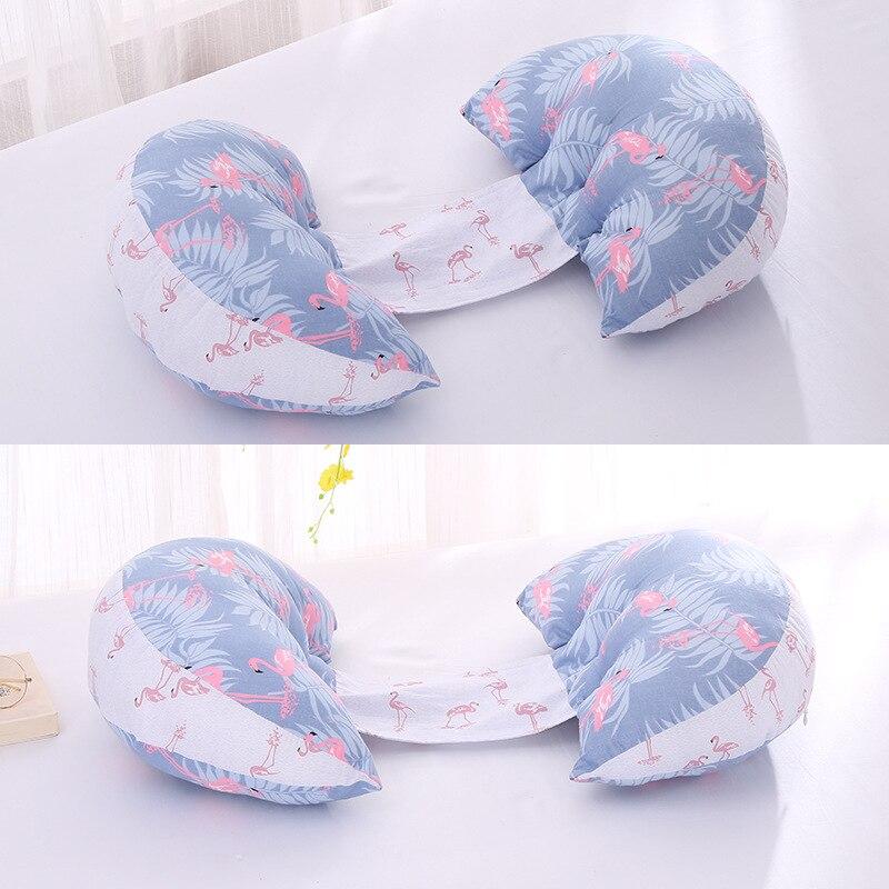 Multi-functional Cotton Pregnant Women Cushioned Lumbar Side Sleeping Pillow Pregnancy Nursing Feeding Pillow Interior Manufactu