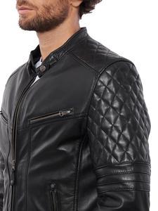 Image 4 - Vinas marca europeia dos homens premium buffalo jaqueta de couro para homens inverno real couro da motocicleta jaquetas motociclista bravo