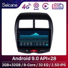 """Seicane 10.1 """"أندرويد 9.0 لسيتروين C4 2010 2014 2015 ميتسوبيشي ASX GPS 2 الدين راديو السيارة مشغل الصوت دعم DVR TPMS DAB +"""