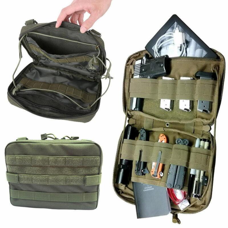 Tactical Molle Pouch Nylon Large Magazine Organizer Utility Phone Medic Belt Bag Cyber Dyer Pocket Organizer Military Waist Bag