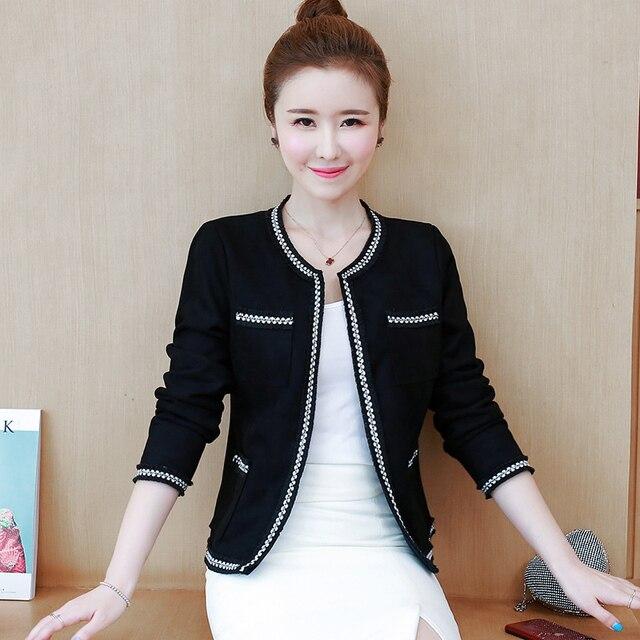 Women's Jackets 2021 Fashion  Autumn Jacket Women Long Sleeve White Coat Women Jacekts Coats And Jackets Women B888 4