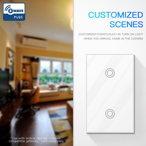 Image 4 - NEO COOLCAM Smart Home Z welle Plus Wand Licht Schalter US Typ UNS 908,4 MHz Z Welle Wireless Smart Remote control