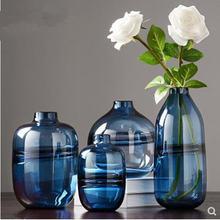 Креативная витражная ваза подарок для дома и офиса Современная
