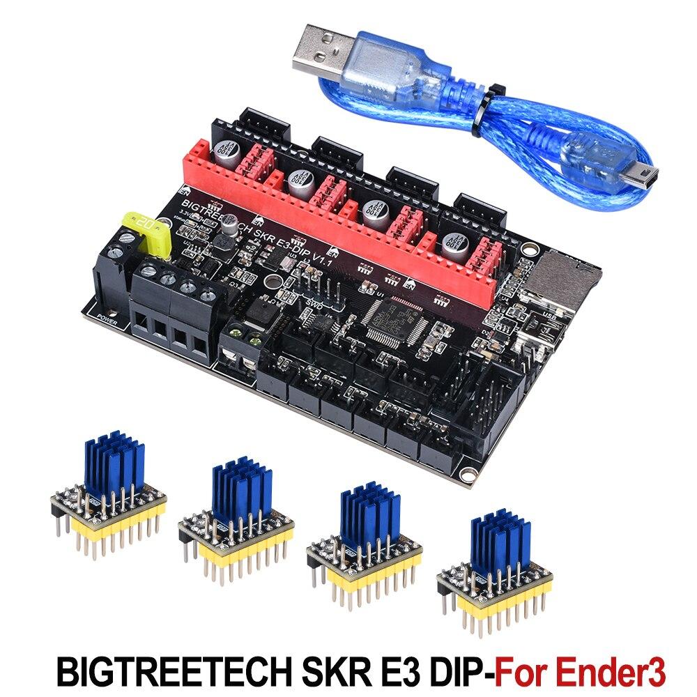 BIGTREETECH SKR E3 DIP V1.1 Control Board 32Bit For Ender-3 PRO 3D Printer Parts TMC2208 TMC2130 Spi VS Cheetah V1.1 Mini E3