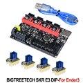 BIGTREETECH SKR E3 DIP V1.1 плата управления 32 бит для Ender-3 PRO 3D принтер запчасти TMC2208 TMC2130 spi VS Cheetah V1.1 mini E3