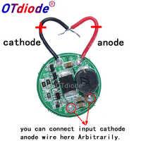 1PCS 1 Mode input 3.7V-30V dc 28mm LED Driver For 1pcs 2pcs 3pcs XML T6/U2 XM-L2/XPL LED Flashlight or 12V Battery Car Light