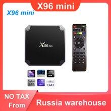 X96 mini TV BOX Android 7,1 Dispositivo de TV inteligente 2GB 16GB / 1GB 8GB Amlogic S905W Quad Core 2,4 GHz WiFi Set Top Box X96mini
