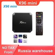X96 mini TV BOX Android 7.1 Smart TV Box 2GB 16GB / 1GB 8GB Amlogic S905W Quad Core 2.4GHz WiFi Set Top Box X96mini