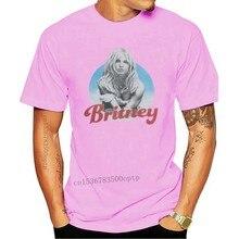 Britney spears 2001 álbum capa atlética ajuste flex t camisa masculina branca m l xl xxl