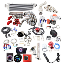 Completato Kit Turbo fit per BM * W 92-99 T3 T3/T4 T04E 318I 318IS 318IC 318TI e36 L4 M42B18 B44B19 M42 M40 M44