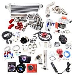 Zakończone Turbo zestawy fit dla BM * W T3 T3/T4 T04E 318I 318IS 318IC 318TI E36 L4 M42B18 B44B19 M42 M40 M44 Turboładowarki i części    -