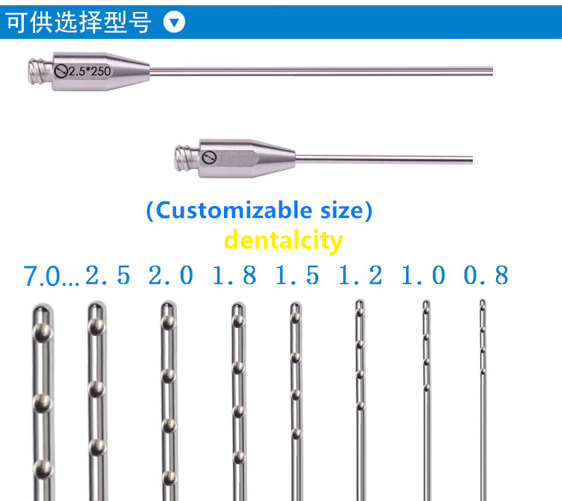Water Injection Stainless Steel Needle Plastic Surgery For Aesthetic Facial Restoration Beauty Tools