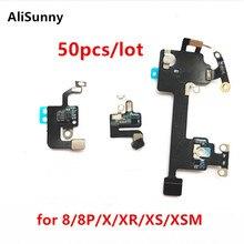 AliSunny 50 قطعة Wifi الكابلات المرنة آيفون 8 زائد 8 جرام X XS ماكس XR واي فاي هوائي جهاز استقبال الإشارات الشريط استبدال أجزاء