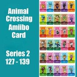 Serie 2 #127-139 Animal Crossing Kaarten Amiibo Kaart Werken Voor Schakelaar 3DS Ns Games Nodigen Dier Kaarten amiibo Kaart
