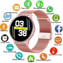 الرياضة ساعة ذكية جهاز تعقب للياقة البدنية دعم متعدد الطلب معدل ضربات القلب النوم رصد ضغط الدم الأكسجين الرجال دعوة تذكير SmartWatch