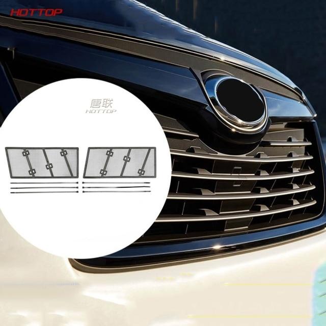 Red de inserción de rejilla delantera de malla de detección de insectos de coche para Subaru Forester 2019