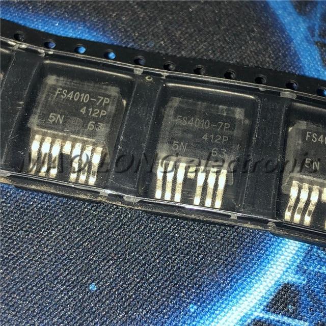 100 יח\חבילה IRFS4010 7P FS4010 7P TO263 MOS N ערוץ 190A / 100V