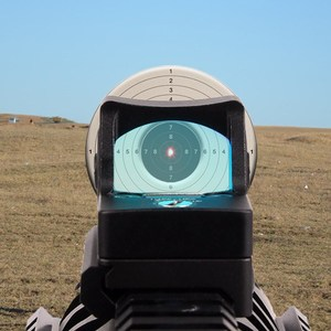 Image 3 - Mini RMR منظر نقطة حمراء نطاق جهاز الرؤية العاكس نطاق مع غلوك العالمي جبل Airsoft بندقية الصيد البصر البصري