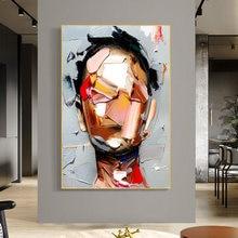 Модные художественные фигуры картины на холсте абстрактные женские