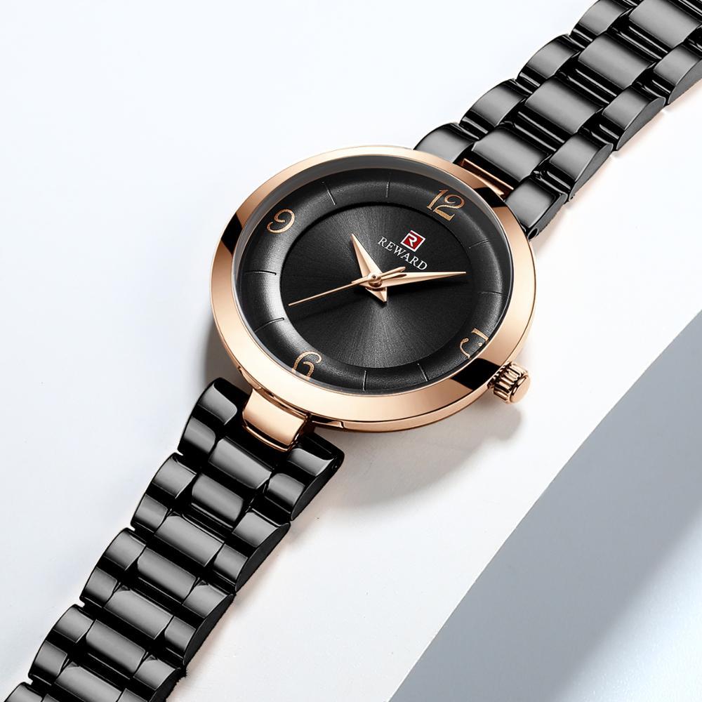 REWARD 2019 new women 39 s watch fashion trendy beautiful women 39 s watch quartz alloy watches for Women female lady in Women 39 s Watches from Watches